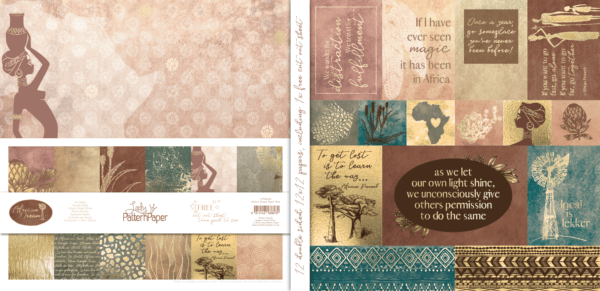 LPPB0028 - African Dream - Paper Pack