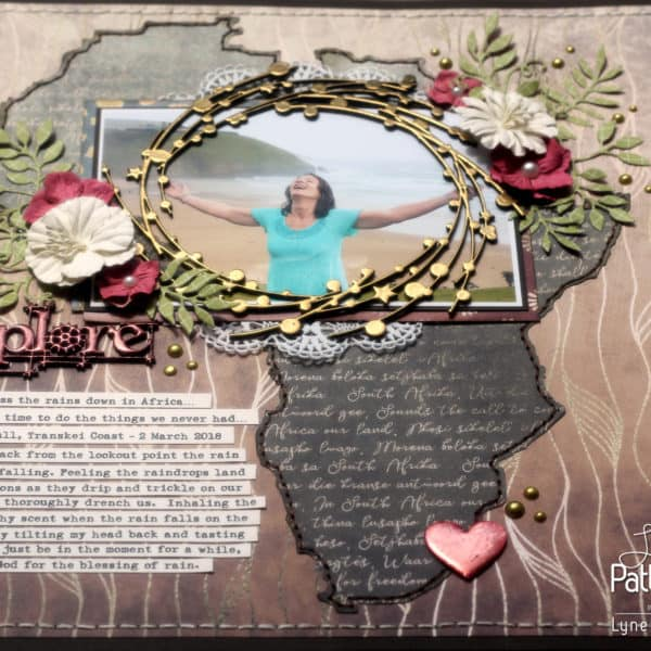 Lynette's Single Page - African Dream Layout
