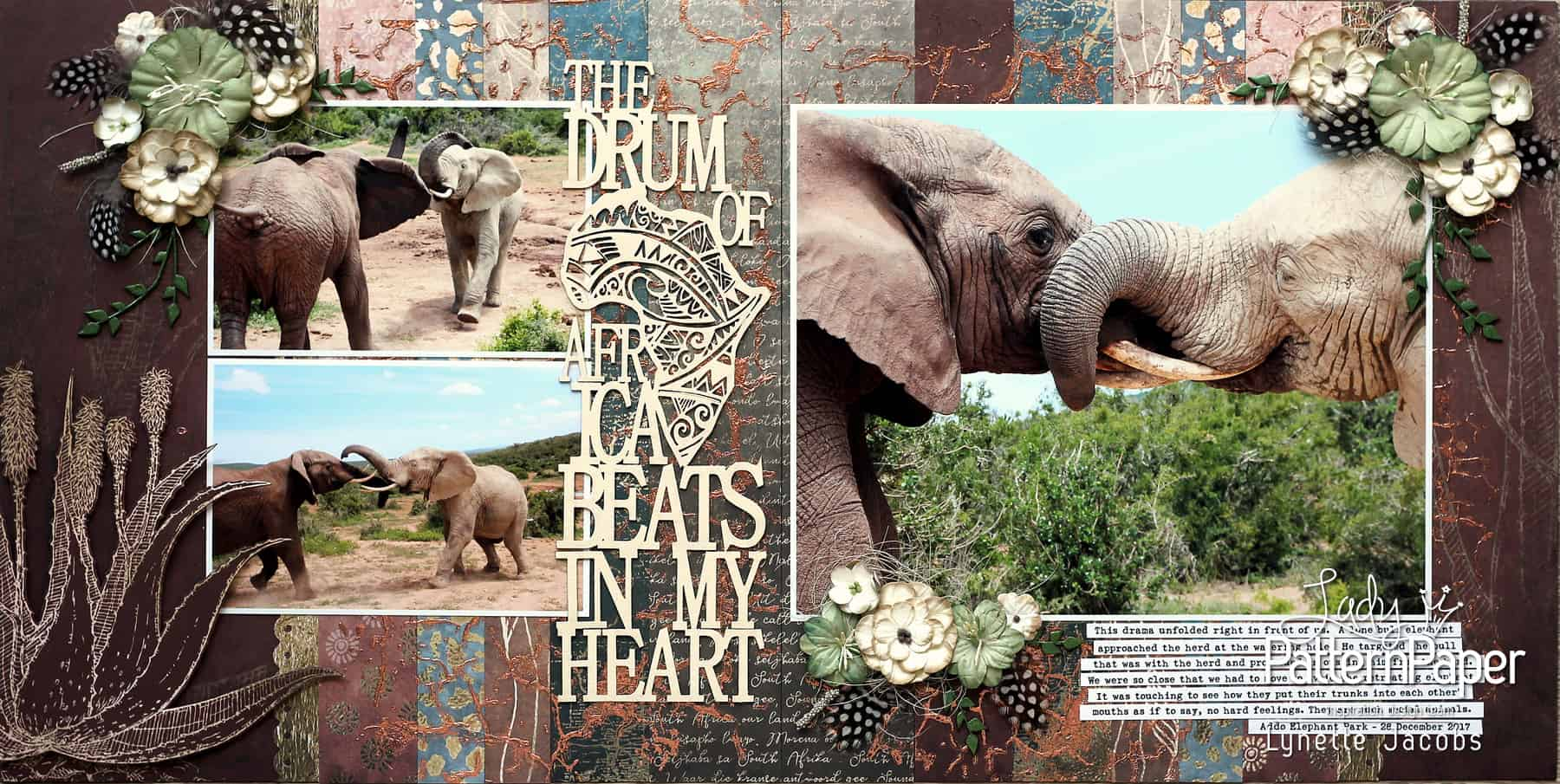 The Drum Of Africa Beats In My Heart