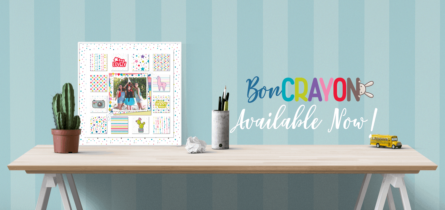Bon Crayon - Available Now!