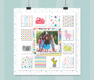 Bon Crayon Hanging Layout
