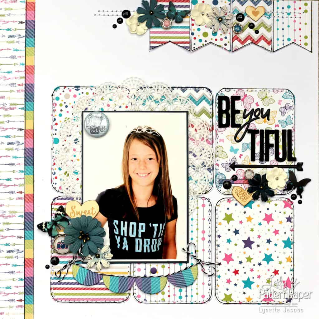 Bon Crayon by Lynette - BEyouTIFUL Layout