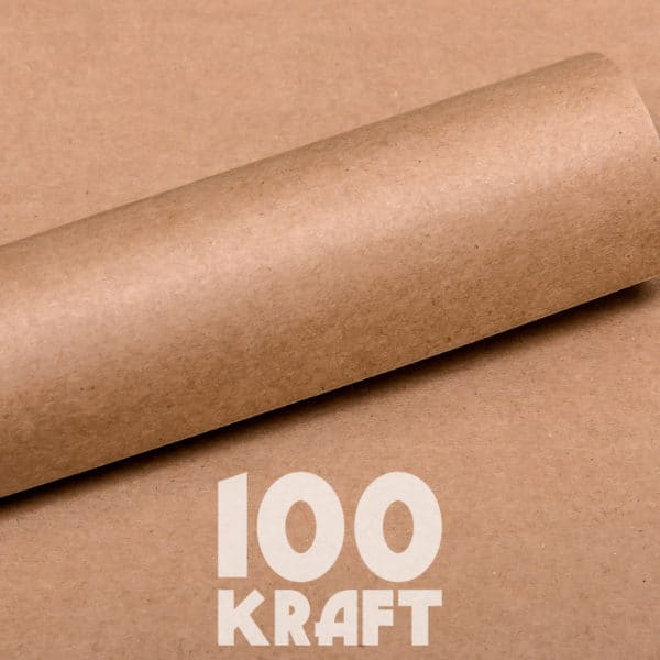 LPPB0004 - Kraft Essentials Plain Cardstock Pack - 100