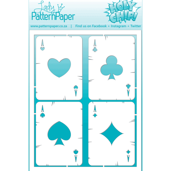 LPPC0001 - Holy Chip! - Playing Cards Chipboard (60x155mm)