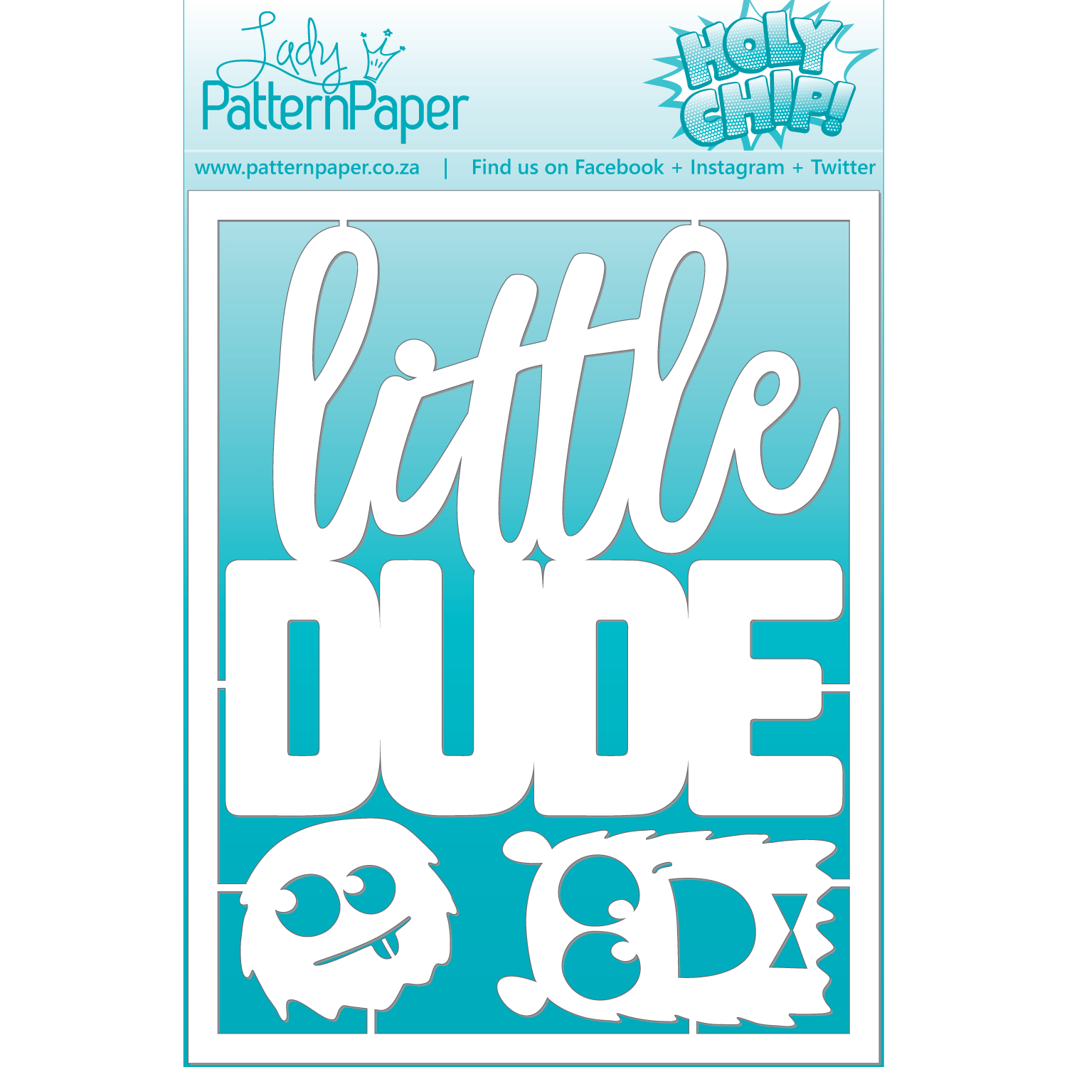LPPC0003 - Holy Chip! Dude Chipboard - 60x155mm