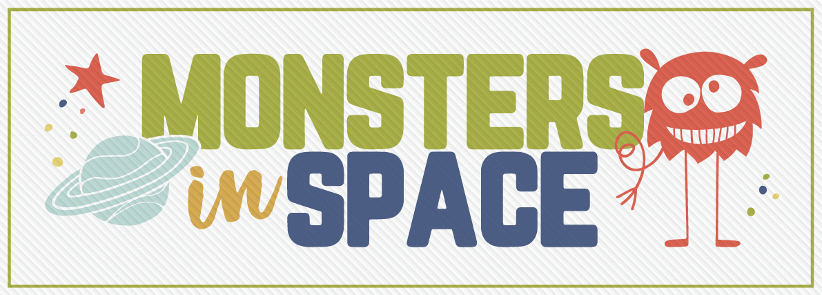 Monsters in Space Logo