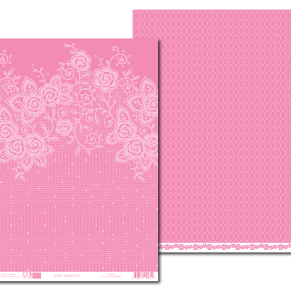 LPP0036 - Basic Essentials - Lucy Lace - Pink Mary