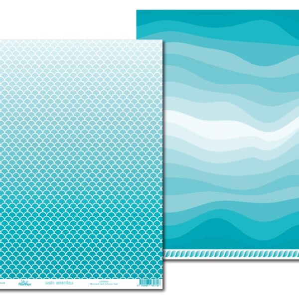 LPP0060 - Basic Essentials - Mermaid Tails - Intense Teal