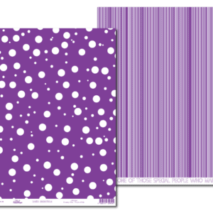 LPP0064 - Basic Essentials - Purple Affair - Dreamy Dots