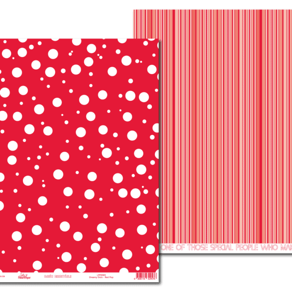 LPP0069 - Basic Essentials - Dreamy Dots - Red Pop