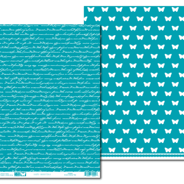 PP0004 - Basic Essentials - Script - Intense Teal