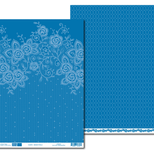 PP0027 - Basic Essentials - Dazzling Blue - Lucy Lace