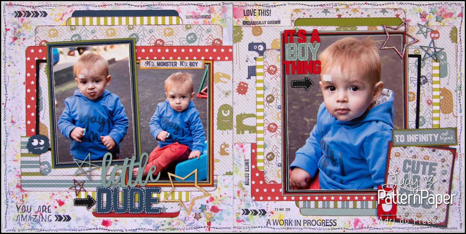 Cute as a bug - Double Page Layout