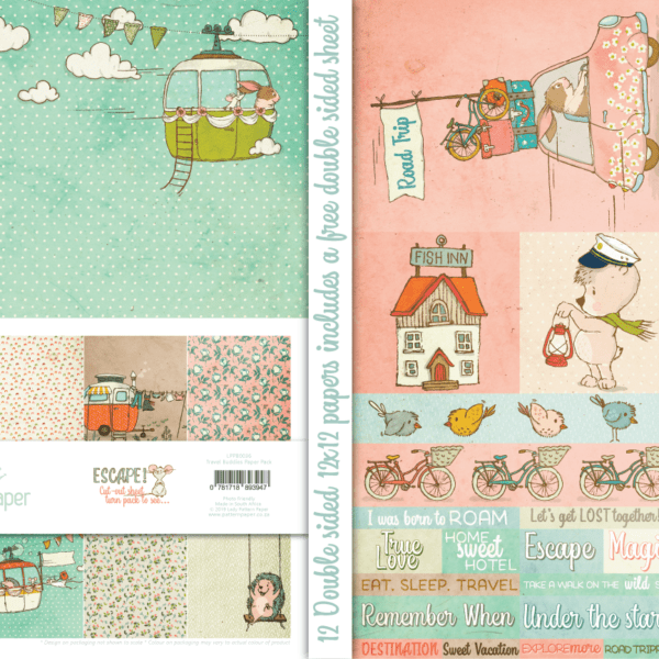 LPPB0036 - Travel Buddies - Paper Pack