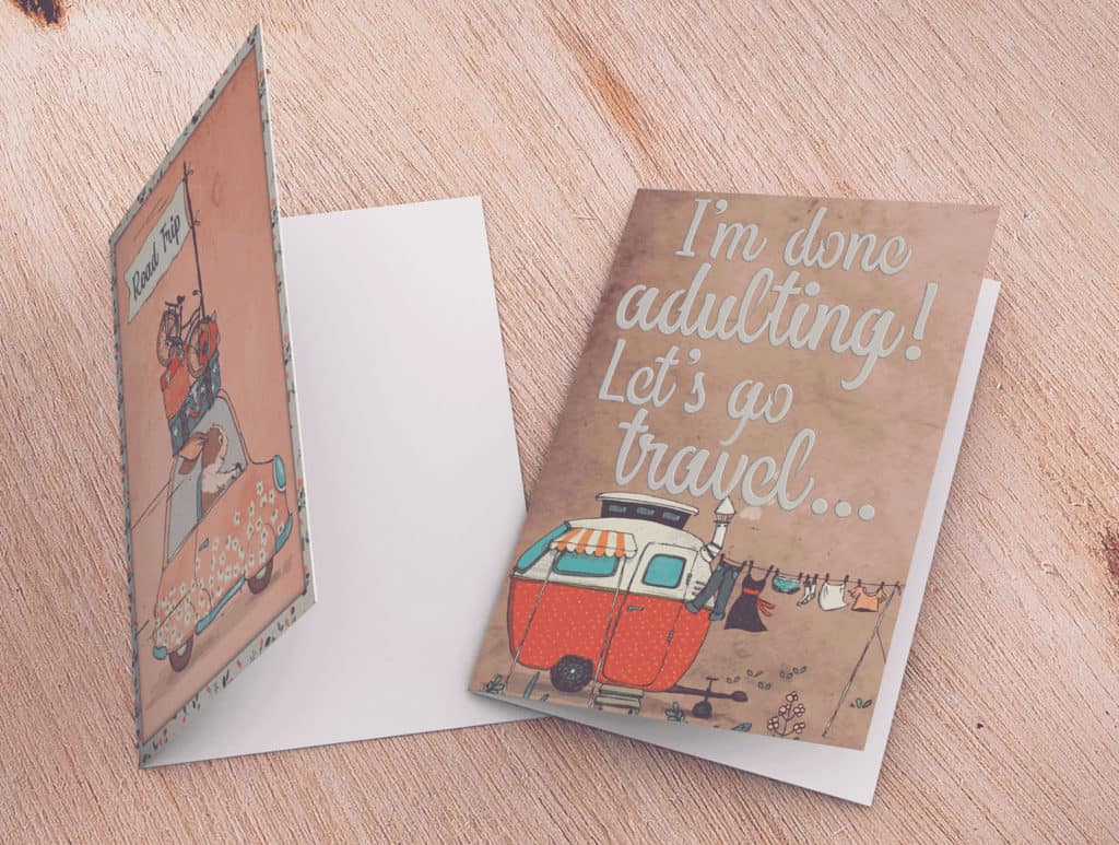 Travel Buddies Card