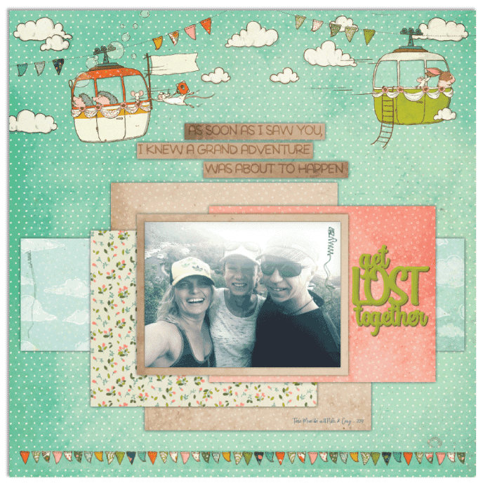 Travel Buddies Layout