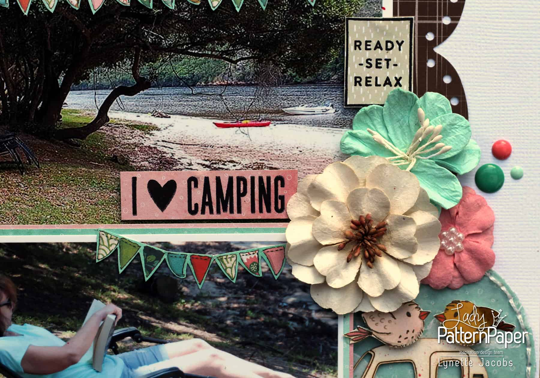 I Love Camping - Travel Buddies - Bunting