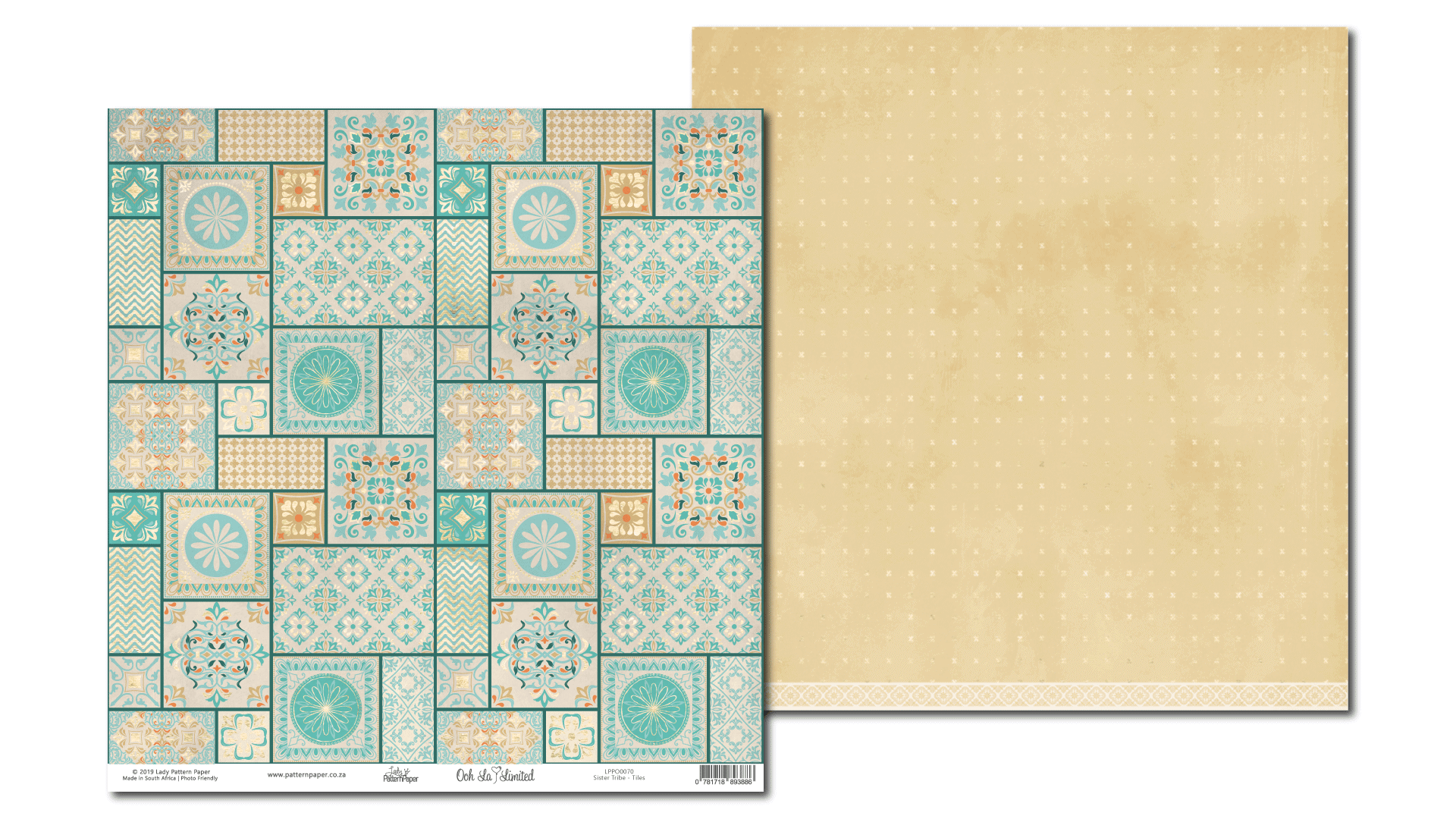 LPPO0070 - Ooh La Limited - Sister TRIBE - Tiles