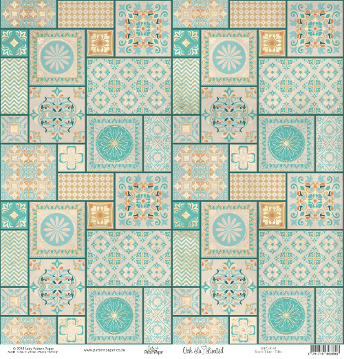 LPPO0070 - Sister TRIBE - Tiles - Front