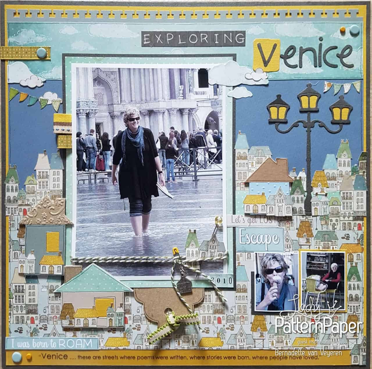 Travel Buddies - Bernadette's Layout