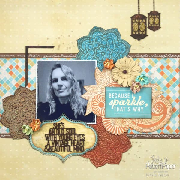 She's an old soul - Sister TRIBE Layout