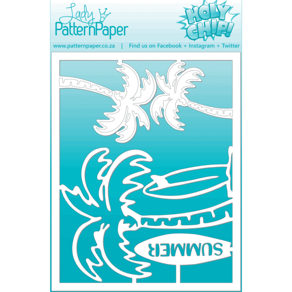 LPPC0009 - Holy Chip! - Palms Chipboard (95x120)