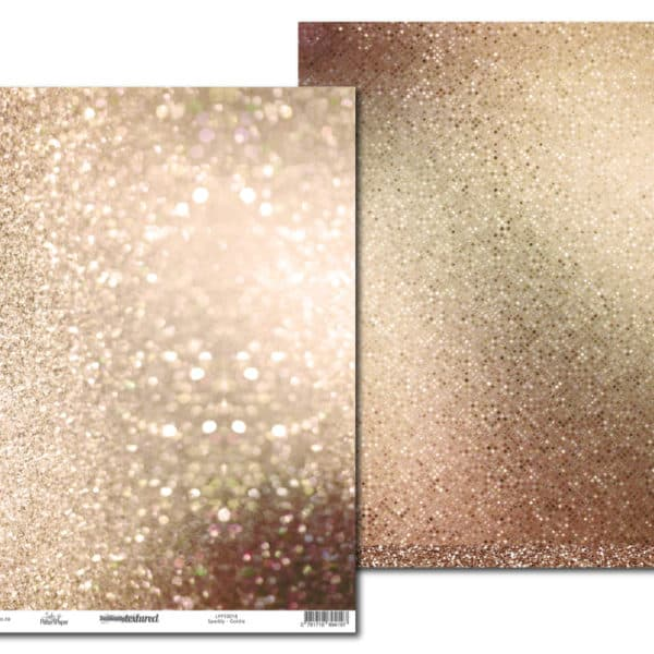 LPPT0018 - Basically Textured - Sparkly Goldie