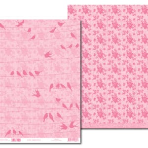 LPP0035 - Basic Essentials - Pink-Mary - Lovebirds