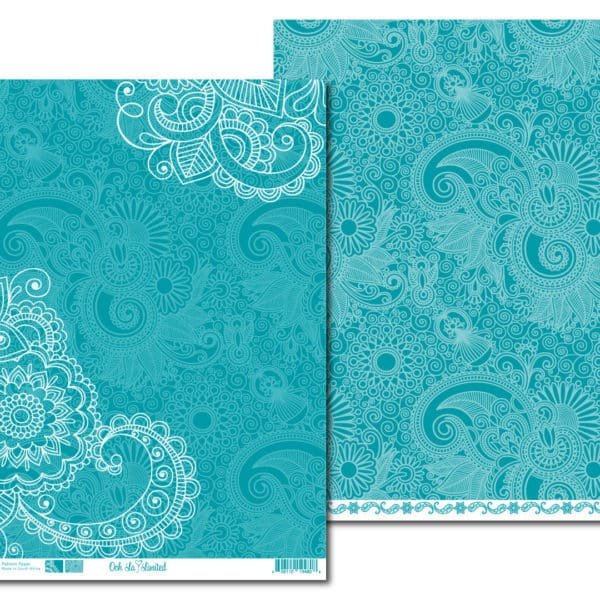 LPPO002 - Ooh La Limited - My India - Intense Teal
