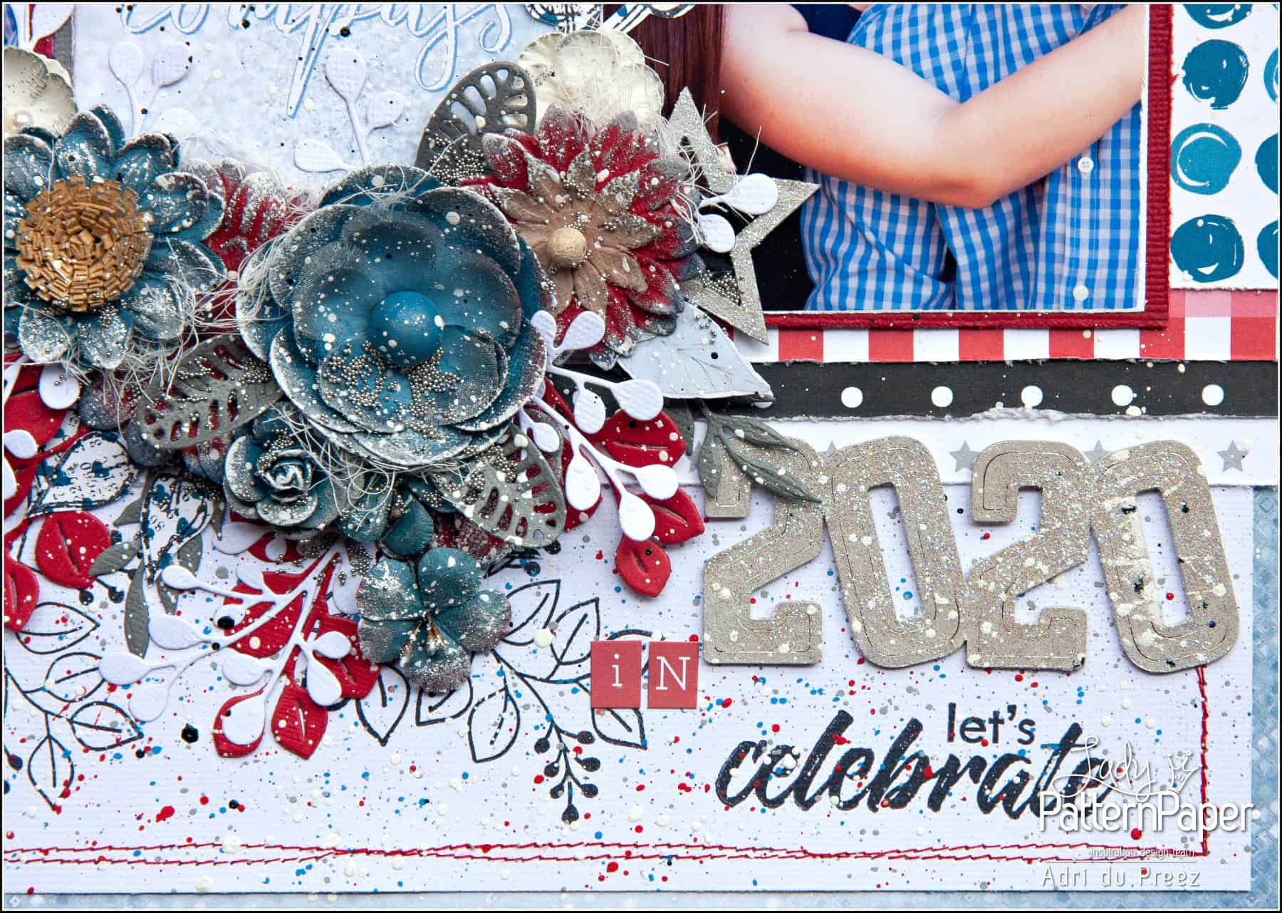 Let joy be your compass - 2020 Chipboard