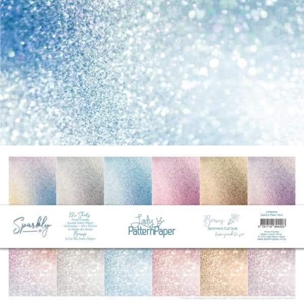 LPPB0039 - Basically Textured - Sparkly - Paper Pack