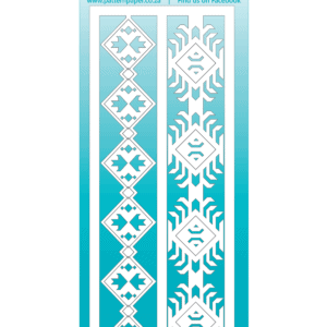 LPPC0015 - Bohemian Muse - Tribal Borders - 60x155