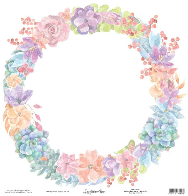LPPO0086 - Bohemian Muse - Wreath a