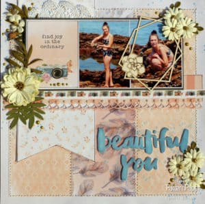 Beautiful You Bohemian Muse Layout