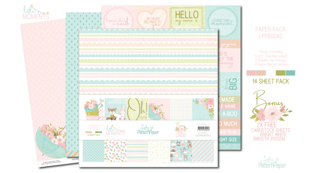 Little Moments - Paper Pack