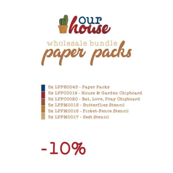 Our House - Wholesale Packs - Deal