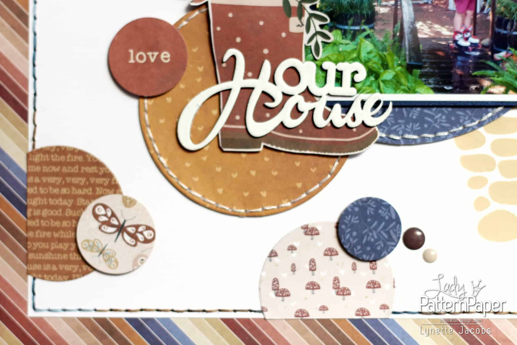 Lynette's Our House Layout - Circle Punches
