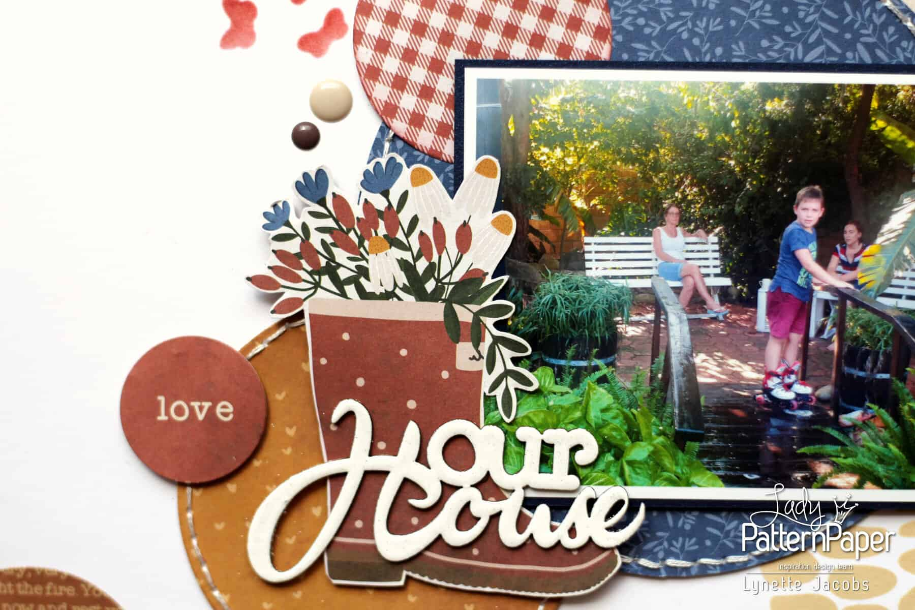 Lynette's Our House Layout - House Chipboard