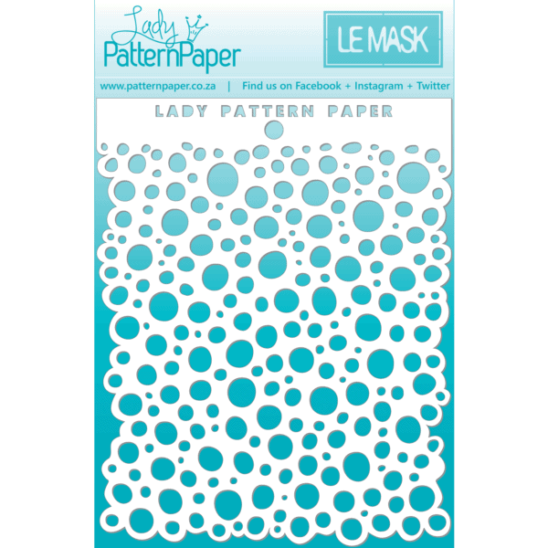 LPPM0018 - Sweet Summer - Bubbles Mask - 95x120mm