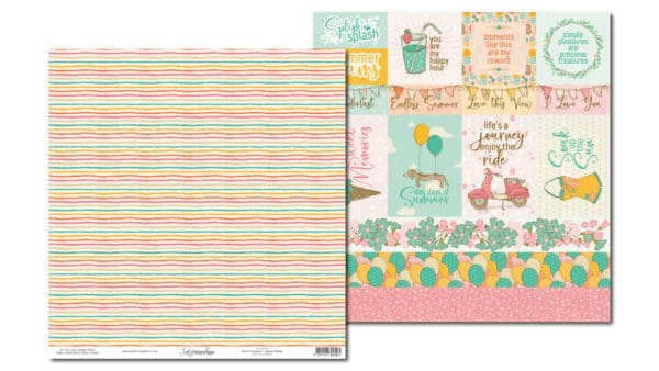 LPPO0101 - Sweet Summer - Candy Stripe