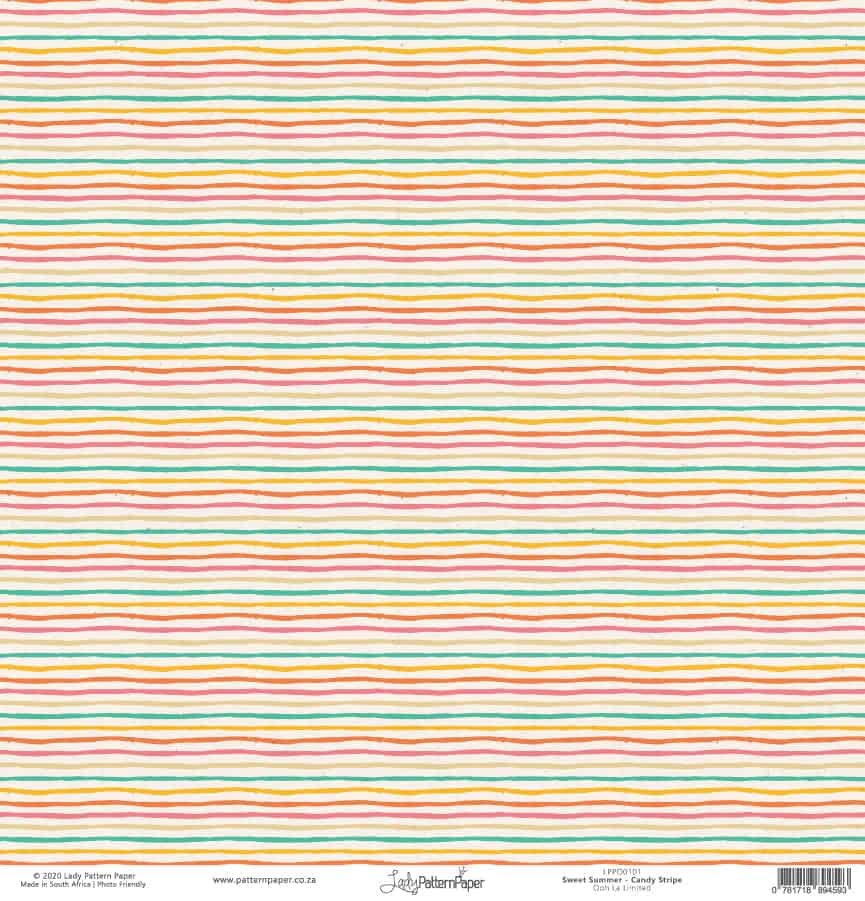 LPPO0101 - Sweet Summer - Candy Stripe - a
