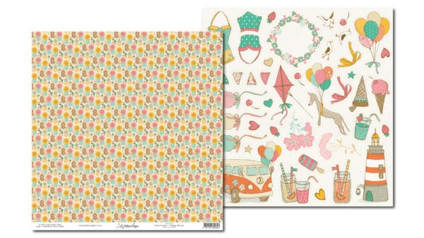 LPPO0104 - Sweet Summer - Vintage Blooms