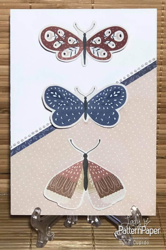 Our House - Butterflies Card