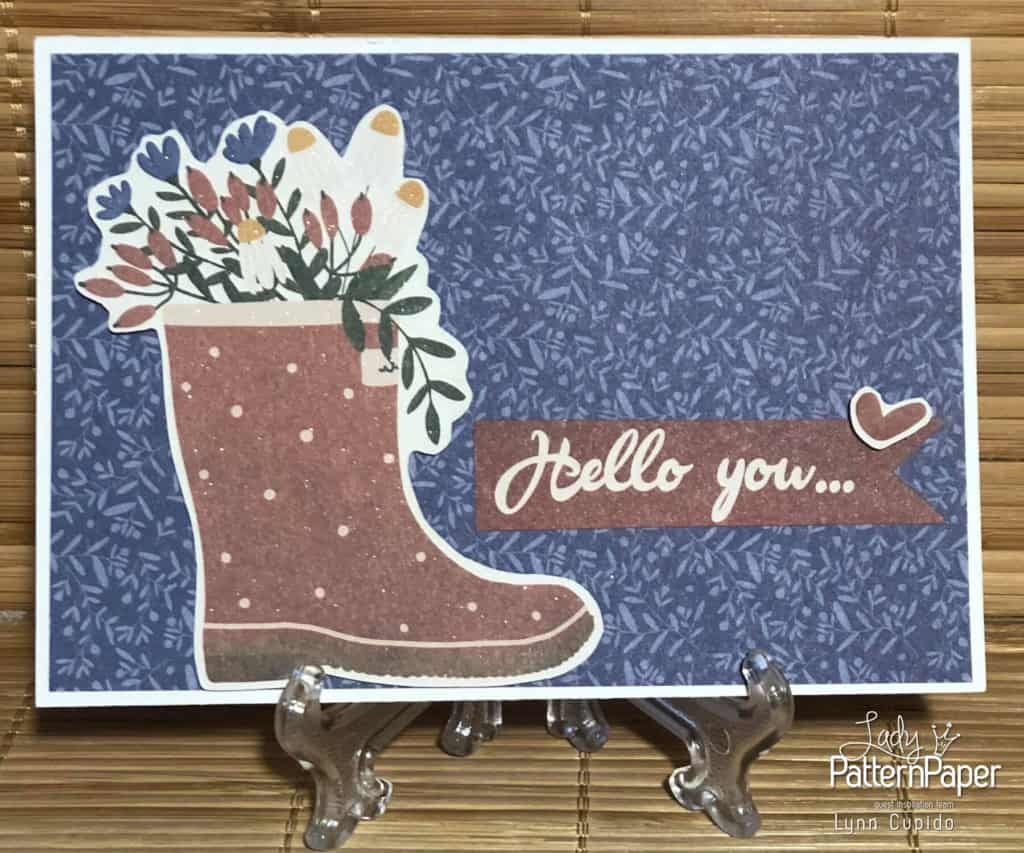 Our House - Hello you card