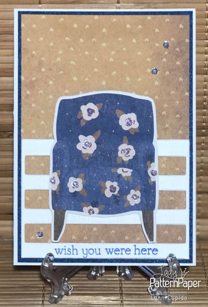Our House - Wish you were here card