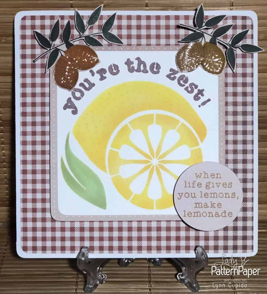 Our House - You're-the-zest! Card
