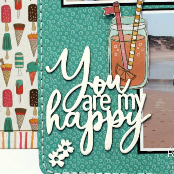 You are my happy - Happy Chipboard