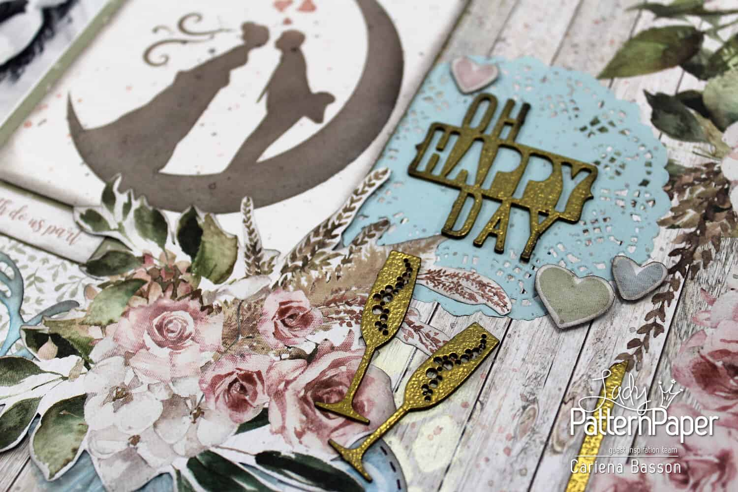 Always and Forever - Oh Happy Day - Chipboard Elements