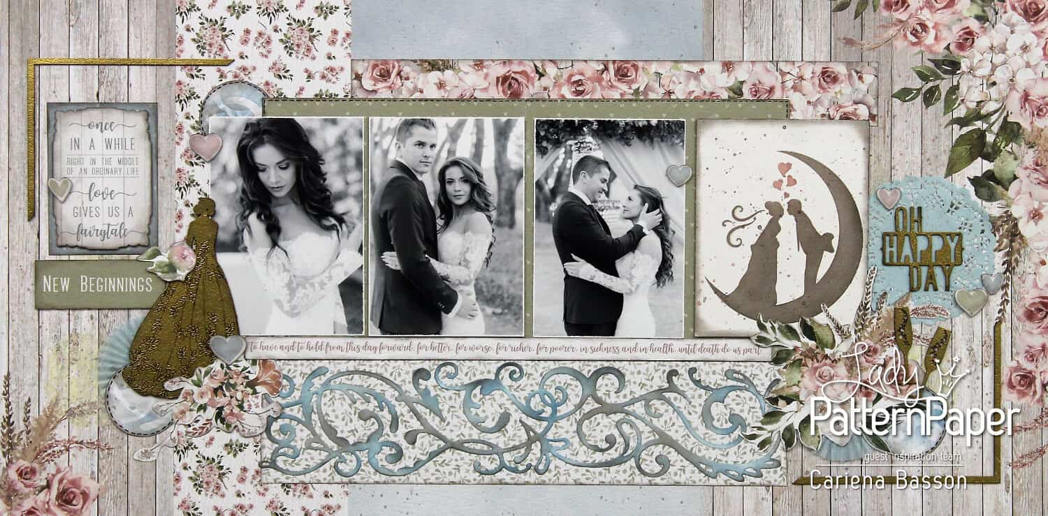 Always and Forever - Oh Happy Day Layout