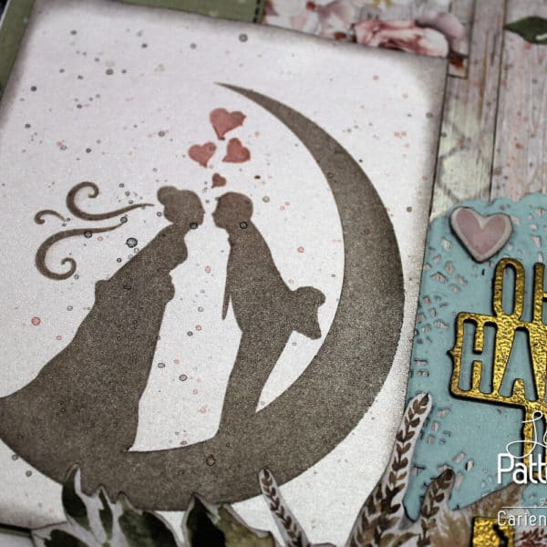 Always and Forever - Oh Happy Day - Bride & Groom Stencil